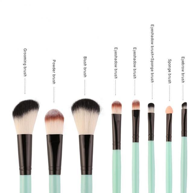 18 Pcs/set  Makeup Brushes Set For Foundation Powder Blush Eyeshadow Concealer Lip Eye Make Up Brush Cosmetics Beauty Tools 3