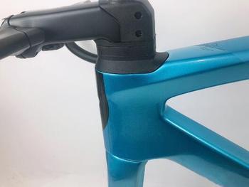 S-W de bicicleta de carbono con cable lnner ajustable para Di2, accesorio de bicicleta de carbono de 2020x12 y 142x100