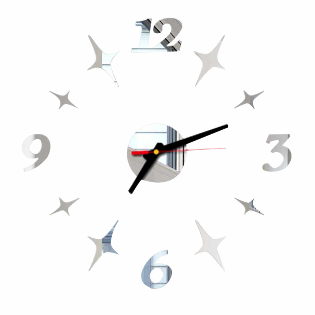 2020 heißer Wanduhr Quarzuhr Reloj De Pared Moderne Design Große Dekorative Uhren Europa Acryl Aufkleber Wohnzimmer Clok