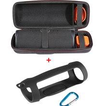 2 で 1 ハード EVA ジッパーキャリーケース収納ボックスバッグ + JBL ための充電 4 Bluetooth スピーカー jbl Charge4 列
