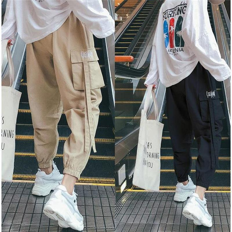 Cargo Pants Women Loose Pants For Women Korean Version Of The Versatile New Show Slim Bundle Of Casual Pants Women