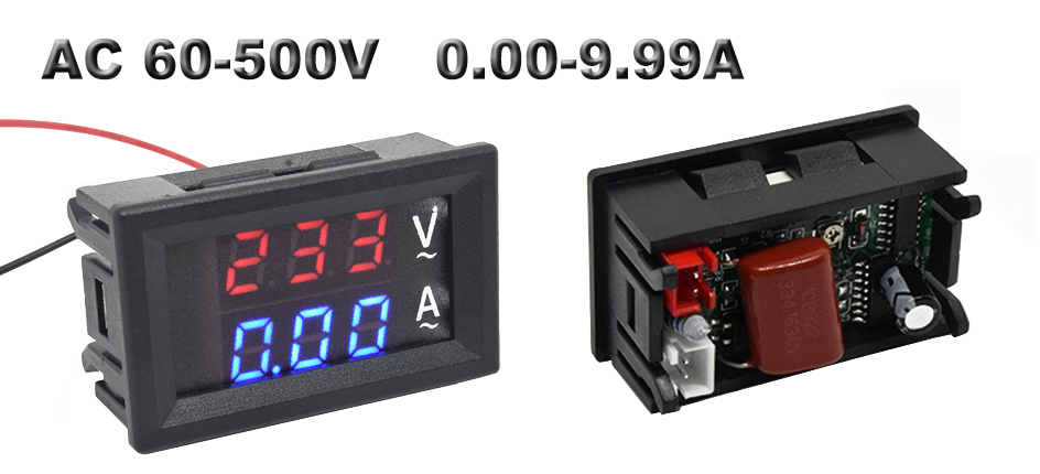 digital display led voltmeter