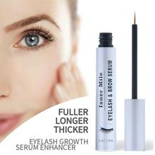 ISNER MILE natural Eyelash Enhancer Serum eyelash growth booster eyebrow lash Mild stimulation-free eyelash serum