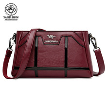 Women Bags Crossbody-Bags Kangaroo Messenger-Bag High-Quality Ladys Luxury for Sac Main