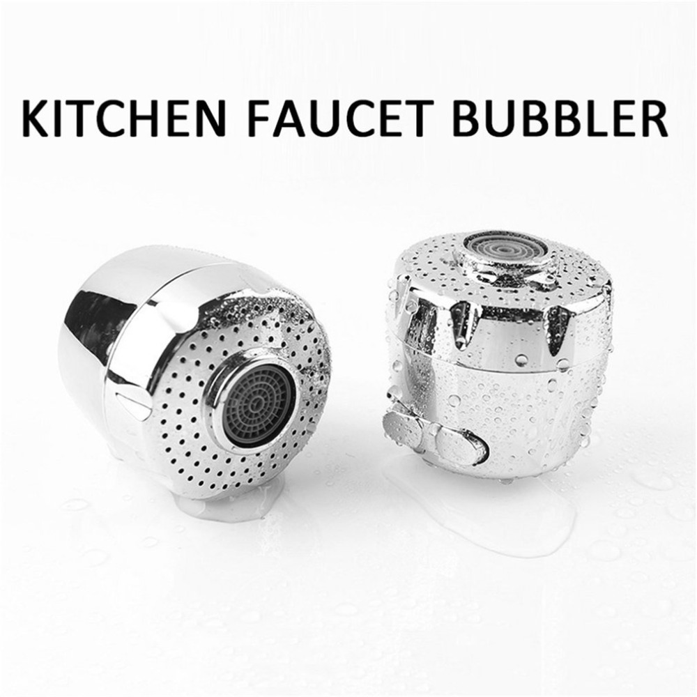 Kitchen Faucet Aerator Water Saving Device Two Water Mode Splash-proof Filter Screen Faucet Aerator For Home Hotel
