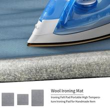 Шерстяной прижимной коврик гладильная доска с высокой температурой Войлок 3 размера вариант гладильная доска Войлок товары для дома прижимной коврик