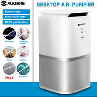 AUGIENB A-DST02 purificateur d'air HEPA filtre à charbon actif stérilisateur odeur Allergies dissolvant pour fumée, cov, Pollen, squames, Smog, PM2.5
