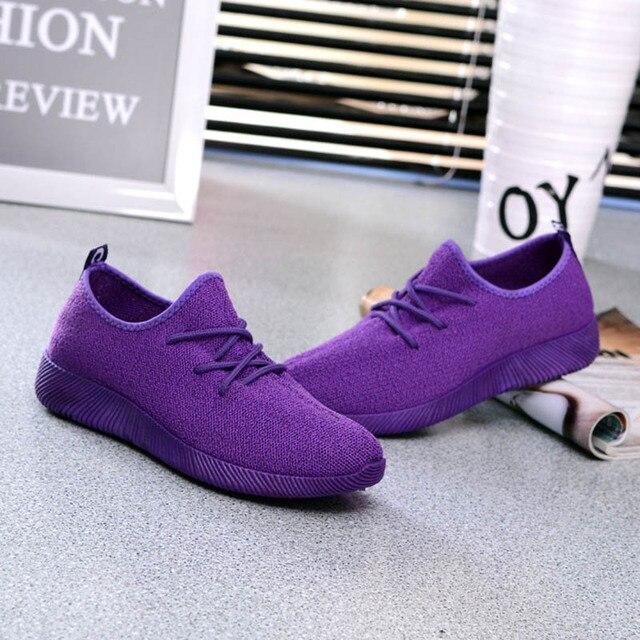 Women Comfy Sports Sneakers Breathable Mesh Platform Walking Shoes for Summer Best Sale-WT 3