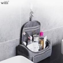 цены Hanging Cosmetics Organizer Toiletry Travel Bag Makeup Healthcare  Organizer For Bathroom Shower Accessory Cosmetics Storage