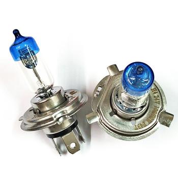 2x H4 9003 HB2 24V 100W 90W wysokiej mocy żarówki reflektorów samochodowych lampa przeciwmgielna do samochodów 4300K ksenonowe żółte 24V HB2 reflektor 100 90W tanie i dobre opinie 24 v Pegasus