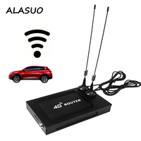 1200Mbps Gigabit Car Bus 4G lte Router Wifi Travelling GPS 5Ghz 3g 4g SIM Card Wireless Wifi Router Hotspot VPN PPTP L2TP