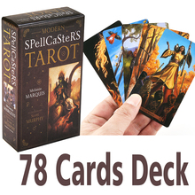Modern Spellcaster's Tarot KIT Deck Cards & Book Set Wiccan Pagan Metaphysical Board Game Divination