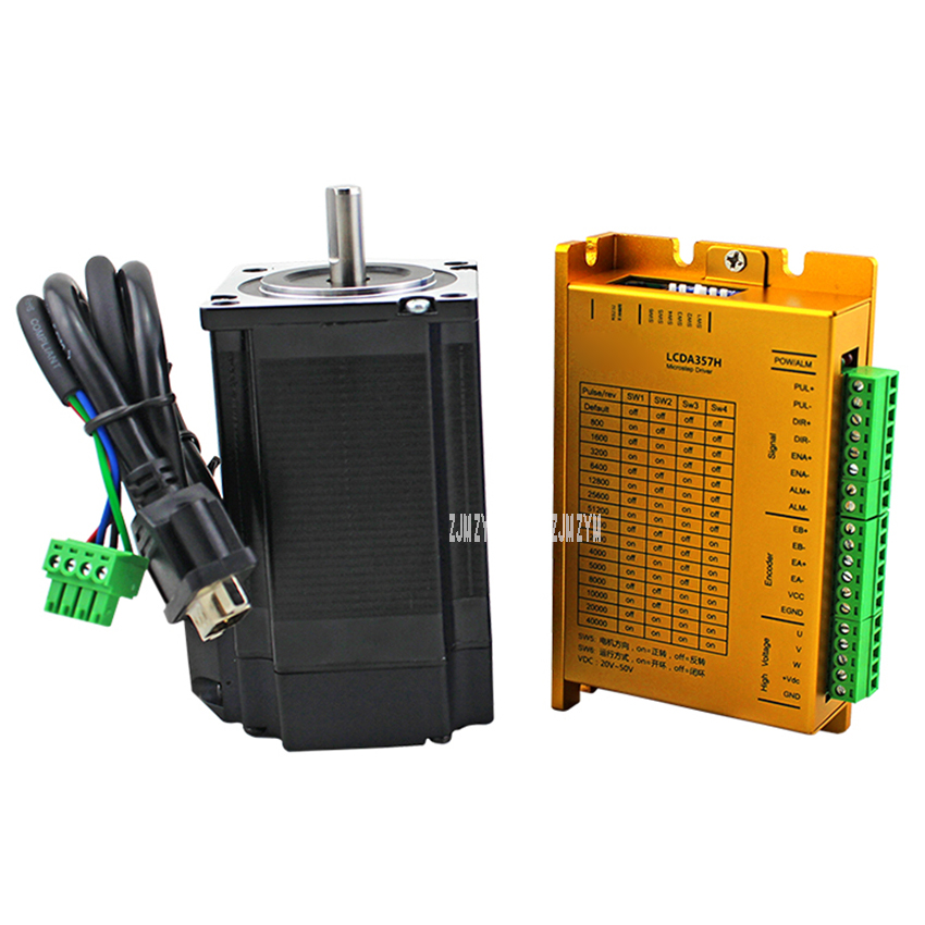 LC57H3100 LCDA357H High Precision Triphase 57 High Speed Closed Loop Package 3N.m Stepping Motor Drive Set DC Stepping Servo