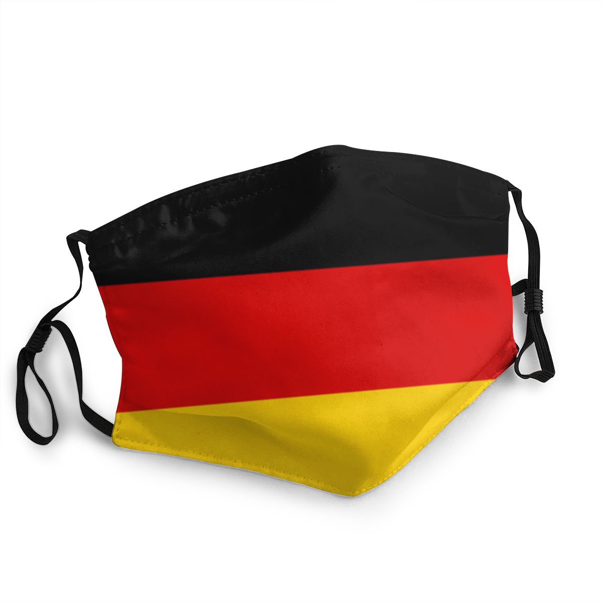 Germany German Flag Reusable Face Mask Anti Bacterial Dust Protection Cover Respirator