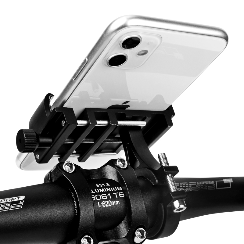 Untoom Bicycle Phone Holder Universal Bike Motorcycle Handlebar Clip Stand Mount Cell