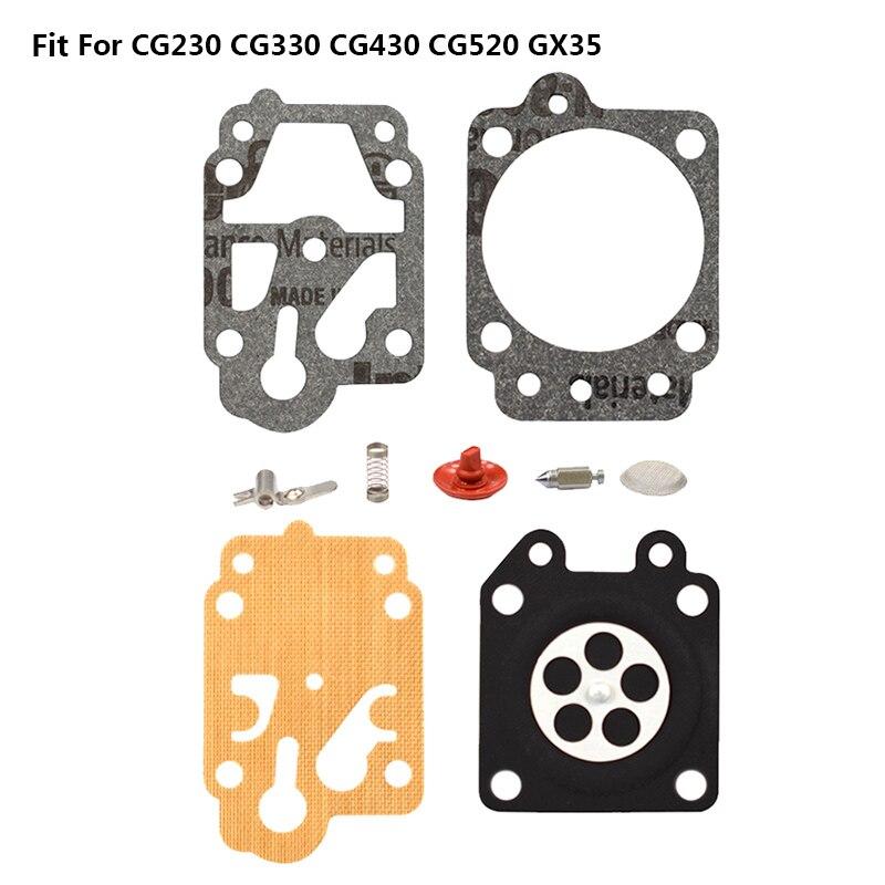 1 комплект карбюратор Ремкомплект для CG230/330/430/520 кусторез Ремонтный комплект для бензопелы, для 4500 5200 Запчасти для триммеров, Запчасти чай - Цвет: 03