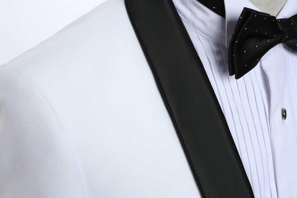 Daro ternos dos homens de luxo calças jaqueta formal vestido masculino terno definir ternos de casamento do noivo smoking (jaqueta + calças) dr8858