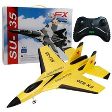 Battery Aircraft-Resistant Rc-Fighter Remote-Control Crash-Model Glider Foam To Replaceable
