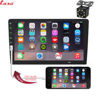 "9"" Touch Mirrorlink iphone Auto audio Player Bluetooth USB Rear View Camera car radio MP5 Player One 2 din Autoradio No Android"