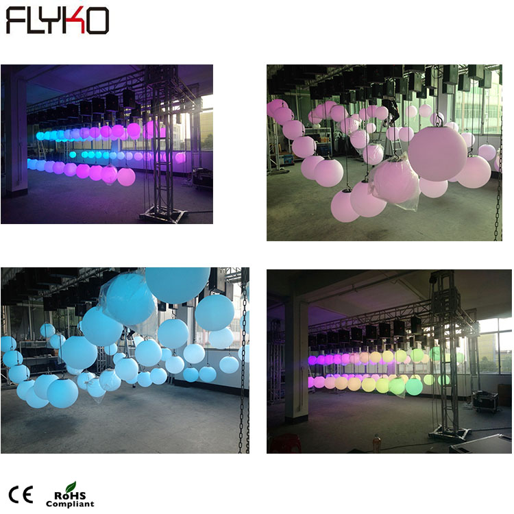 Led lift ball   led kinetic lighting system   color led disco ball|Stage Lighting Effect| |  - title=