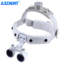 Headband Mounted Dental Surgical Medical Binocular Loupes Magnifier Head Magnifying Glass DY-108 3.5X-R
