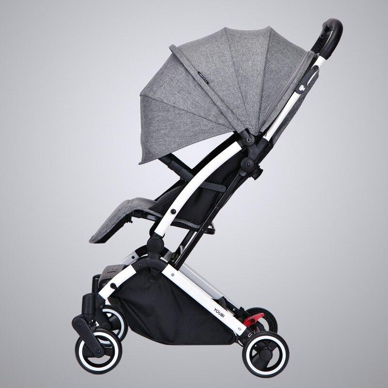 Niemieckiego wózek dziecięcy lekki wózek z przenośne ręcznie popychacz wózek dla dzieci kłamstwa i Foldin wózek dla dziecka podróży
