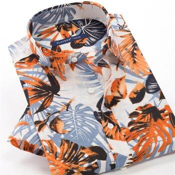 Mens Floral Printed Shirts