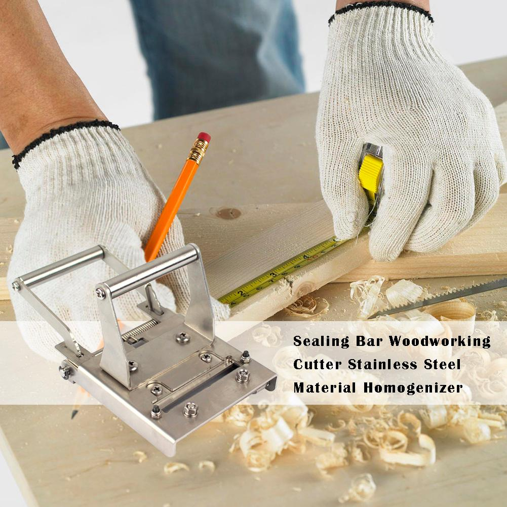 Stainless Steel Portable End Seal Cutter Edge Banding Trimmer Woodworking Tool Horizontal Design Smooth And Accurate Cutting