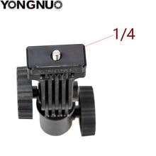 YONGNUO LED light montagebeugel Hot shoe Mount Light Stand Bracket Swivel Voor Monitor LED YN300 III YN600L II YN608