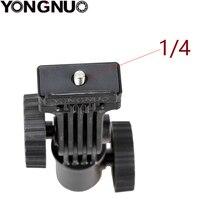 YONGNUO LED light mounting bracket Hot shoe Mount Light Stand Bracket Swivel For Monitor LED  YN300 III YN600L II  YN608
