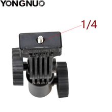 Yongnuo led suporte de montagem de luz sapata quente montar suporte de luz giratória para monitor led yn300 iii yn600l ii yn608