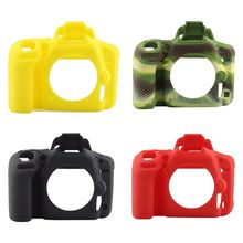 New Silicone Protective Housing Camera Case Body Frame Shell Cover for Nikon D750 DSLR Accessories