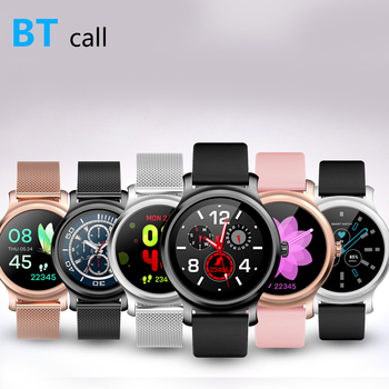 Bluetooth call smart watch Bluetooth 4.0 heart rate phone message reminder music player fitness tracker couple touch screen info