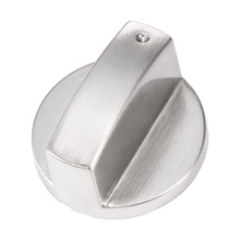 Metal Silver Gas Stove Cooker Knobs Adaptors Oven Switch Cooking Surface Control Locks Cookware Parts