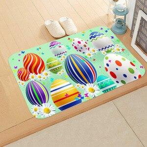 Image 3 - 40 * 60cm Cartoon Animal Floor Mat Non slip Suede Carpet Door Mat Kitchen Living Room Floor Mat Bedroom Decorative Floor Mat  ..