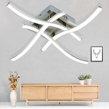 現代のledシーリングライト 3 または 4 ライト天井 21 ワット/28 ワット 3000 18k 6500 18kフォークされた形台所のための寝室の装飾の夜ライト