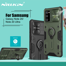 For Samsung Galaxy Note 20 Ultra Case 6.9 phone stand holder NILLKIN Camera Protect Back Cover for Samsung Note 20 case 6.7