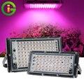 Светодиодный Grow светильник AC220V 50 Вт 100 Вт светодиодный полный спектр Фито лампы светодиодные парниковых гидропоники роста растений светиль...