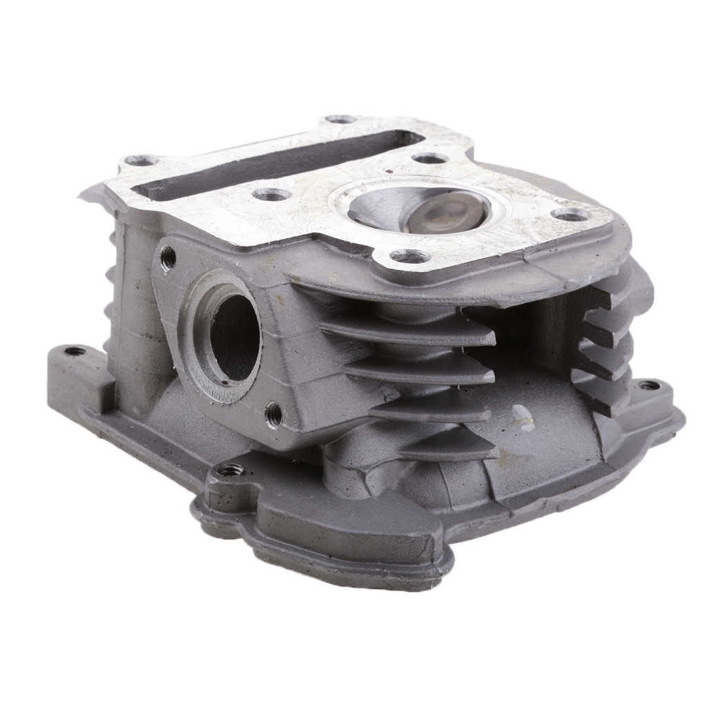 Big Bore Silinder Membangun Kembali Kit GY6 50cc Skuter Balap Bagian Valve