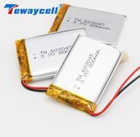 Tewaycell 2 teile/los Lipo Batterien 3,7 v 603045 800mAh Li-polymer Batterie mit Pcb und Drähte