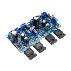Image 2 - AIYIMA 1Pair 1969M FET Bile Power Amplifier Board 25W+25W 1969 IRFP448 Tube Amplifier Home Sound Theater DIY Super 1875 3886 AMP
