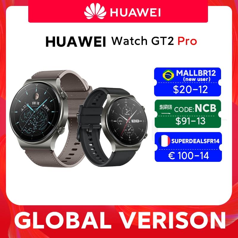 In stock Global Version HUAWEI Watch GT 2 pro SmartWatch 14 days Battery Life GPS Wireless Charging Kirin A1 GT2 Pro Smart Watches  - AliExpress