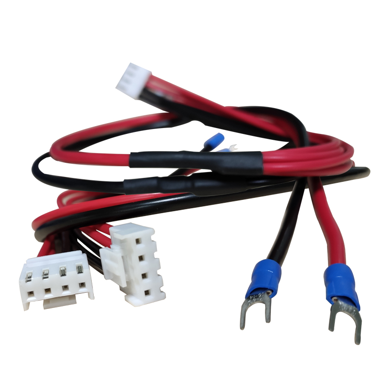 5V 4 Pin Led Panel Display Screen Power Cable 2 In 1 Pure Copper Cable