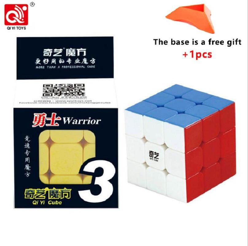 QIYI Sail Cube 3x3x3 5.6CM Mini Professional Speed Puzzle Magic Cube Kids Cube 3x3x3 Gift Colorful White Black