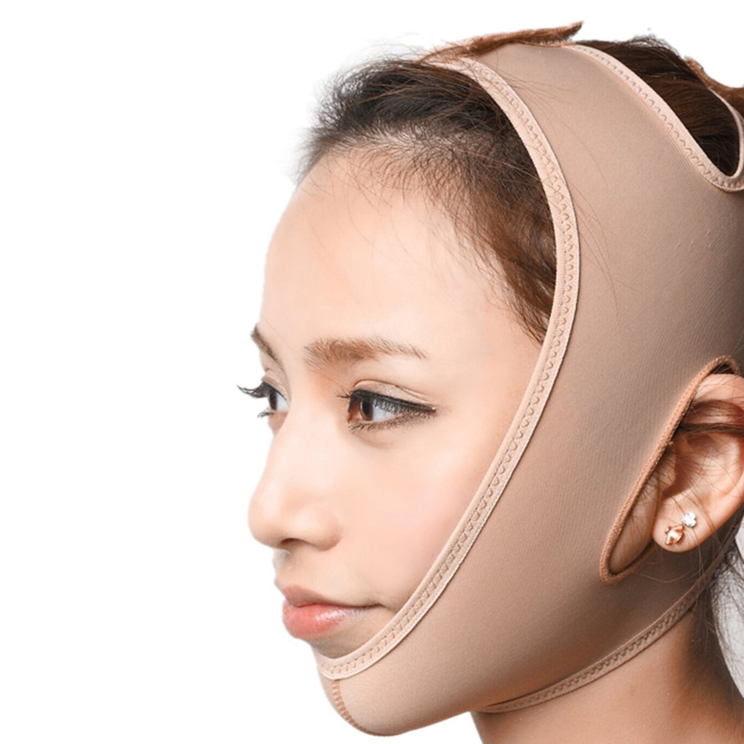 Female Face Slim Mask Delicate Facial Slimming Bandage Comfortable Cheek Lift Up Belt Ultra-Thin Face Care Mask Face Lift Tools