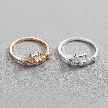 CHENGXUN Taurus Scorpio Virgo 12 Constellation Rings for Women Girls Party Fashion Pisces Star Jewelry Birthday Gift 3