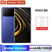 Versión Global POCO M3 4GB 64GB / 4GB 128GB Smartphone Snapdragon 662 de 6,53 \