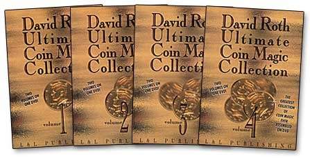 Ultimate Coin Magic Collection By David Roth 1-4-MAGIC TRICKS