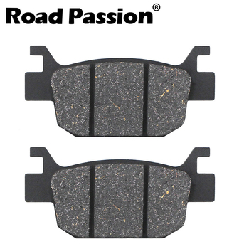 Road Passion Motorcycle Rear Brake Pads For HONDA SH 125i 150i SH150i 9/A Fuel Injection 09-11 SH125i 150RA 125 150 i RA 10-11 image