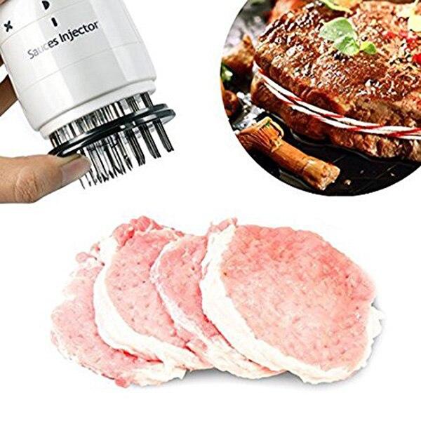 Быстроконные иглы для инъекций, мясной тендеризатор, профессиональные инъекторы мяса ручной работы для инъекции свежего мяса, кухонные инструменты